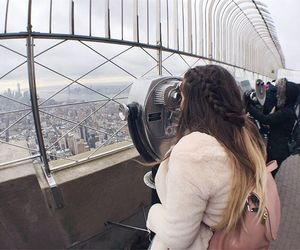 braids, empire state, and hair image