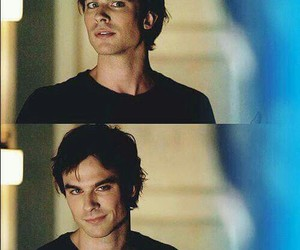 damon salvatore, the vampire diaries, and tvd image