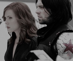 Avengers, bucky, and buckynat image