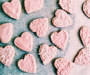 pink, teal, and Cookies image