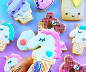 Cookies, unicorn, and food image