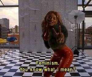 feminism and 90s image
