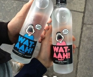 water, wataah, and drink image