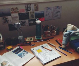 study and desk image