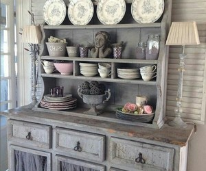 buffet, dinning room, and home decor image