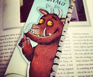 book, cute, and bookmark image