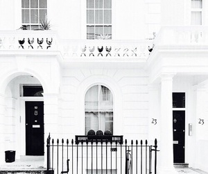 house, white, and beautiful image