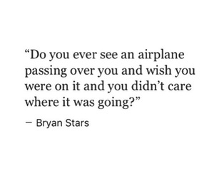 quotes, travel, and airplane image