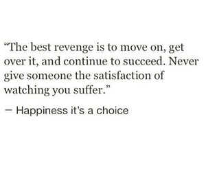 quote, happiness, and revenge image