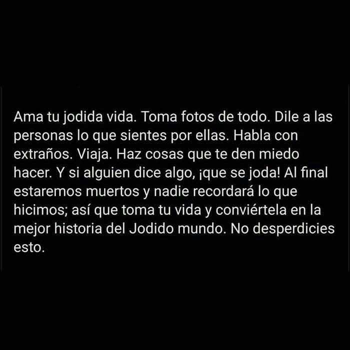 Ama Tu Vida Shared By Meli On We Heart It