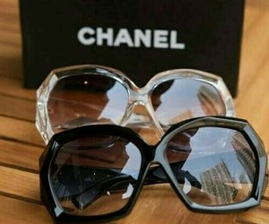 chanel, sunglasses, and glasses image