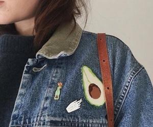 fashion, avocado, and girl image