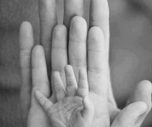family, love, and hands image