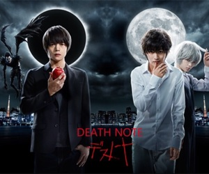 death note, death note 2015, and japenese movie image