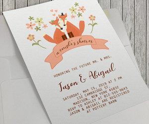 bridal, etsy, and fox image