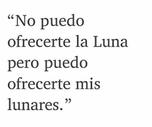 love, frases, and luna image