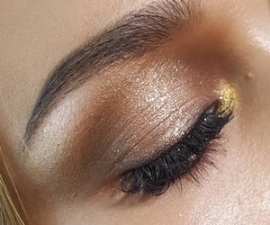 eye, beauty, and makeup image