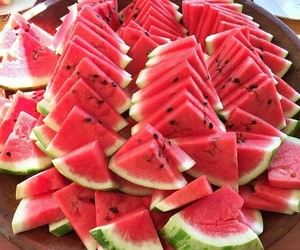 fruit, melon, and melons image