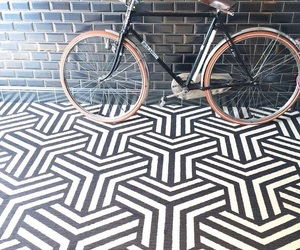 bike, black, and floor image