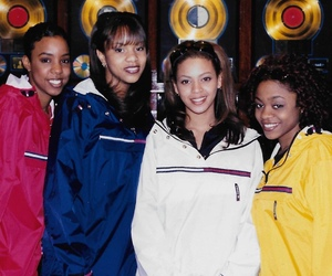 destiny's child, beyoncé, and kelly rowland image