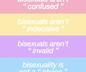 bisexual, bisexuality, and bisex image