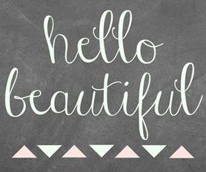 beautiful, wallpaper, and hello image
