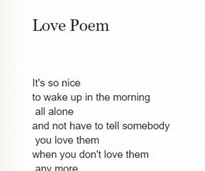 alone, nice, and poem image