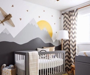 baby, crib, and nursery image