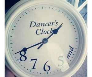 ballet, clock, and contemporary image