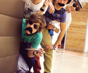 guys, louis, and mostacho image