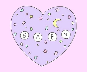 baby, overlay, and wallpaper image