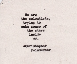 quotes, stars, and scientist image