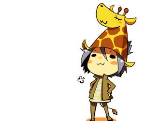 anime, cool, and giraffe image