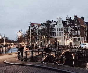 adventure, amsterdam, and inspiration image