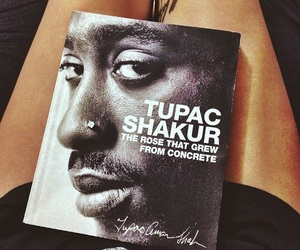 tupac, book, and legend image
