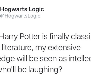 harry potter, intellectual, and classic literature image