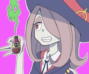 little witch academia, anime, and sucy manbavaran image