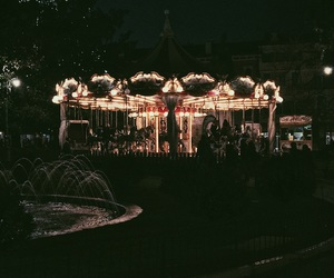 carousel, Cavalli, and child image