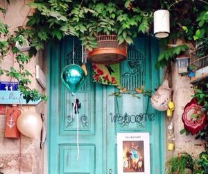 door, colorful, and turkey image