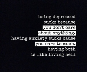 anxiety, caring, and deep image