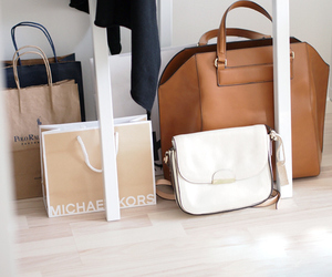 bag, fashion, and shopping image