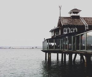 sea, house, and home image