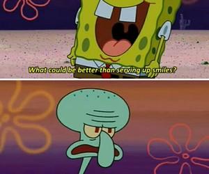 spongebob, funny, and squidward image