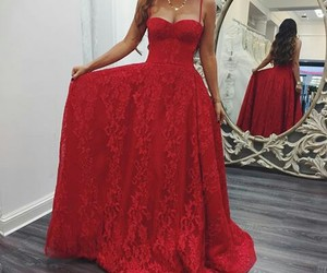 dress red image