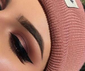 brunette, makeup, and makeup goals image