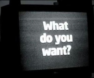 grunge, tv, and black and white image