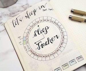 diary, sleep, and tracker image