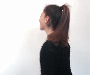 black, fun, and makeup image