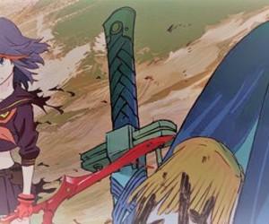 anime, satsuki, and senketsu image