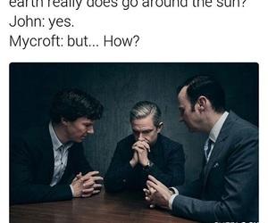 funny, sherlock, and john watson image